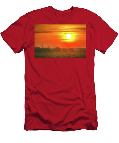 November Sunset Men's T-Shirt (Athletic Fit)