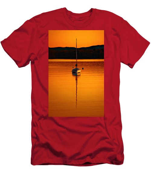 Nuclear Sunset Men's T-Shirt (Athletic Fit)