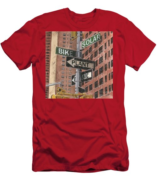 Nyc Broadway 2 Men's T-Shirt (Athletic Fit)