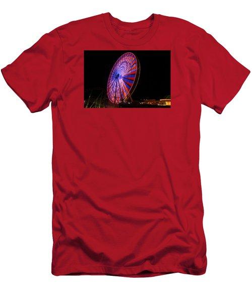 Ocean City Ferris Wheel4 Men's T-Shirt (Athletic Fit)