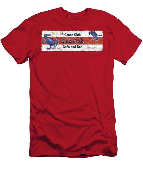 Ocean Club Cafe Men's T-Shirt (Athletic Fit)