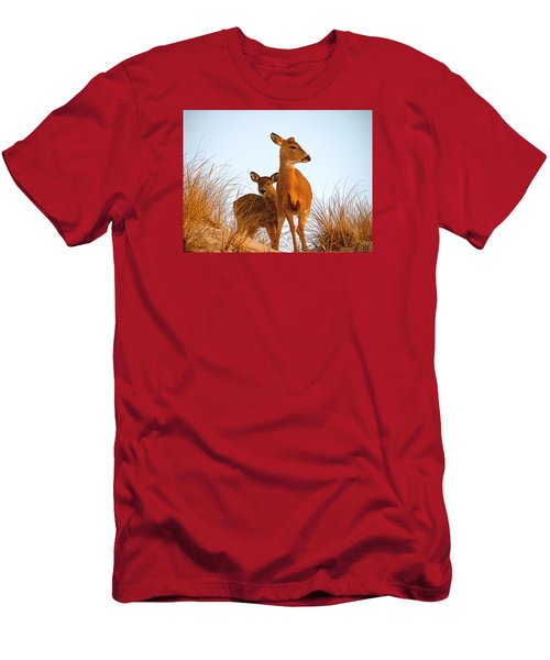 Ocean Deer Men's T-Shirt (Slim Fit) by  Newwwman