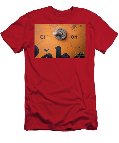 Off And On Men's T-Shirt (Athletic Fit)