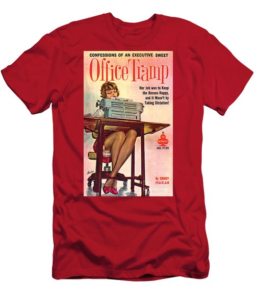 Office Tramp Men's T-Shirt (Athletic Fit)