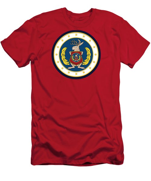 Official Odd Squad Seal Men's T-Shirt (Slim Fit) by Odd Squad