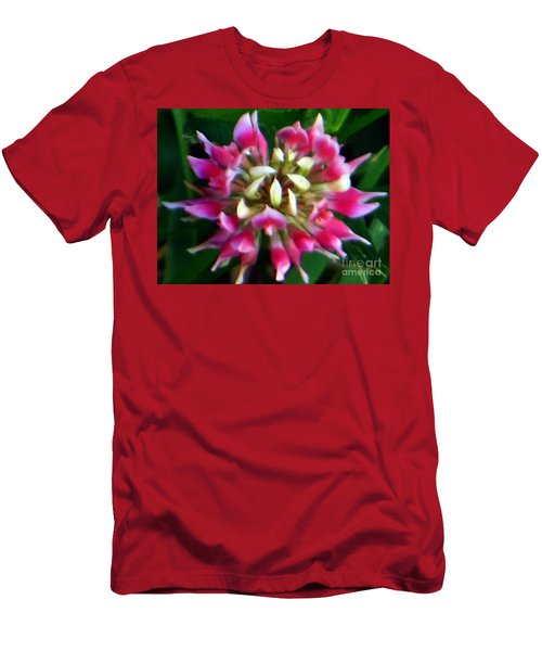 Old Rose Explosive Wildflower Men's T-Shirt (Athletic Fit)