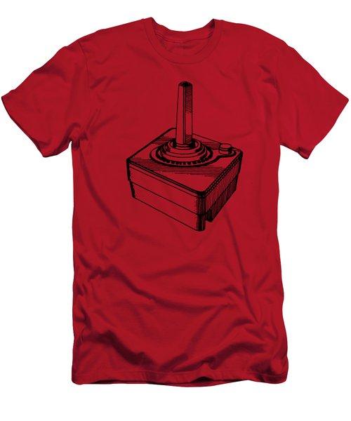 Old School Atari Video Game Controller T-shirt Men's T-Shirt (Athletic Fit)