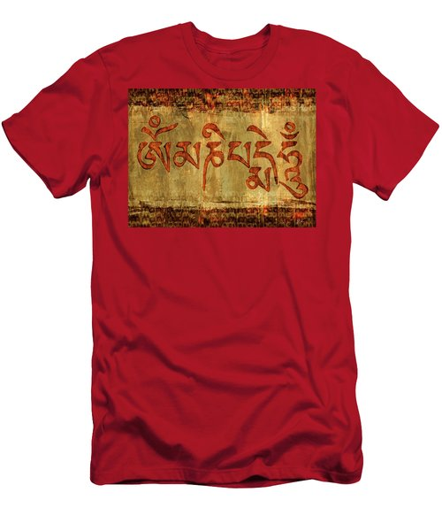 Om Mani Padme Hum Men's T-Shirt (Athletic Fit)