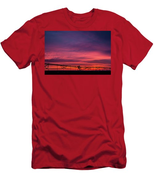 Men's T-Shirt (Athletic Fit) featuring the photograph On The Farm by Tyson Kinnison