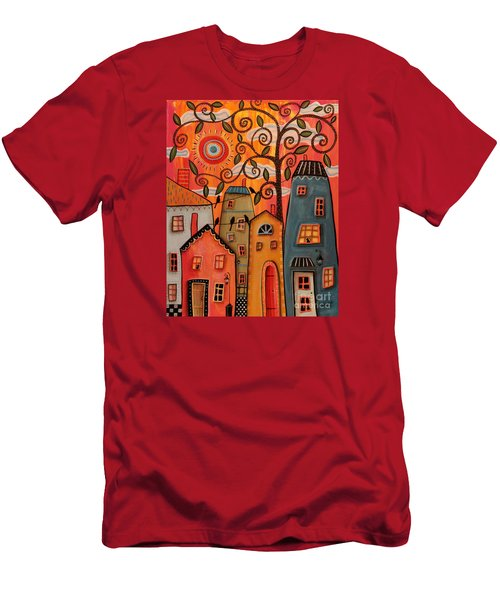 One Afternoon Men's T-Shirt (Slim Fit) by Karla Gerard