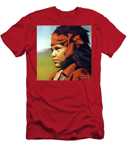 One Who Soars With The Hawk Men's T-Shirt (Athletic Fit)