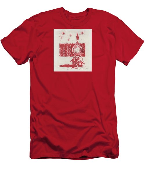 Onion Dome Men's T-Shirt (Slim Fit) by Alla Parsons