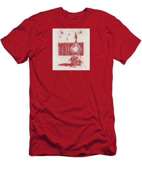 Onion Dome Men's T-Shirt (Athletic Fit)