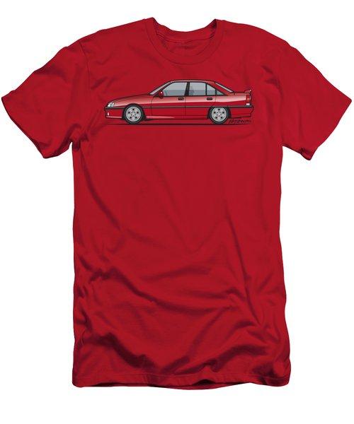 Opel Omega A, Vauxhall Carlton 3000 Gsi 24v Red Men's T-Shirt (Athletic Fit)