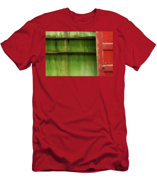 Men's T-Shirt (Slim Fit) featuring the photograph Open Door by Mike Eingle