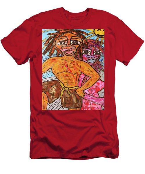 Open Waters Men's T-Shirt (Athletic Fit)