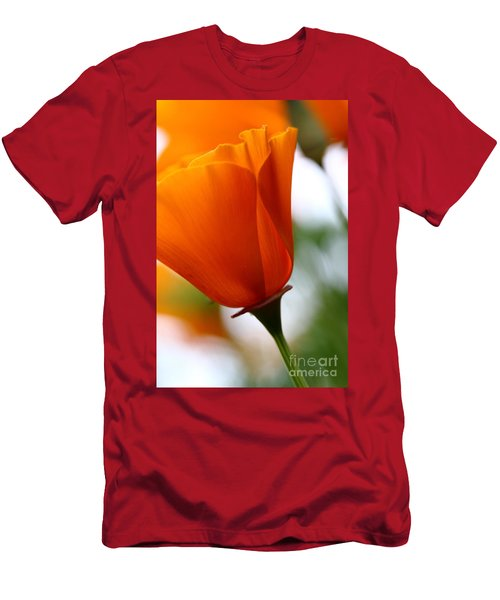 Orange California Poppy . 7d14789 Men's T-Shirt (Athletic Fit)