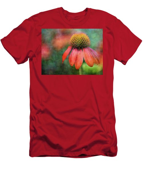 Orange Coneflower 2576 Idp_2 Men's T-Shirt (Athletic Fit)