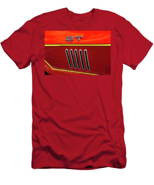 Orange Gt Men's T-Shirt (Athletic Fit)