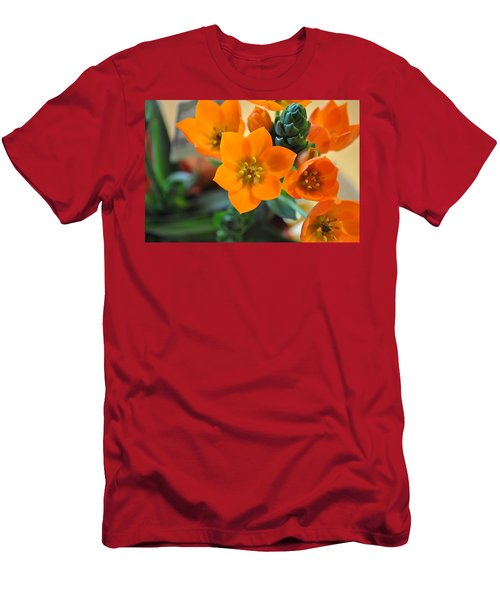 Orange Star Men's T-Shirt (Athletic Fit)
