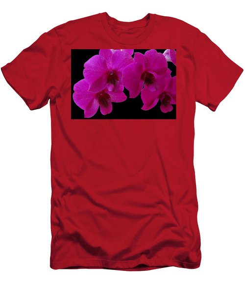 Orchid Song Men's T-Shirt (Athletic Fit)