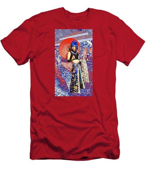 Oriental Cosplayer Men's T-Shirt (Slim Fit) by Ian Gledhill