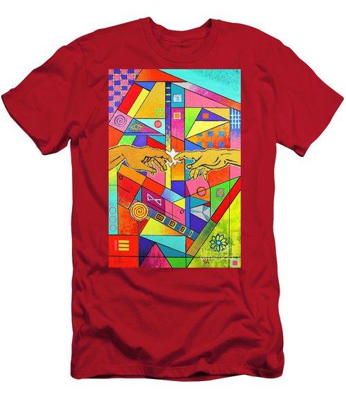 Origin Of Man Men's T-Shirt (Athletic Fit)