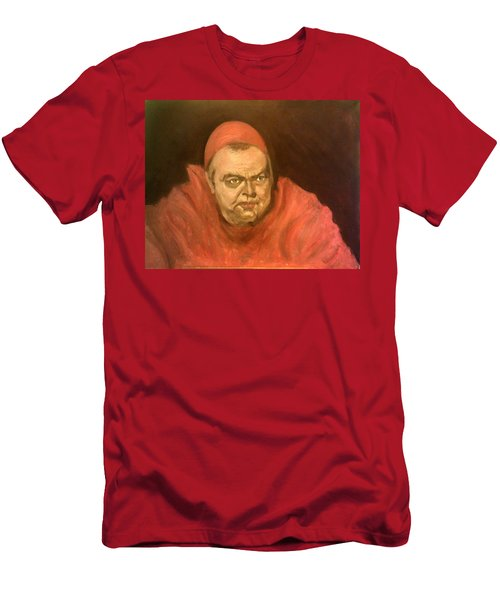 Orson Welles As Cardinal Wolsey Men's T-Shirt (Athletic Fit)