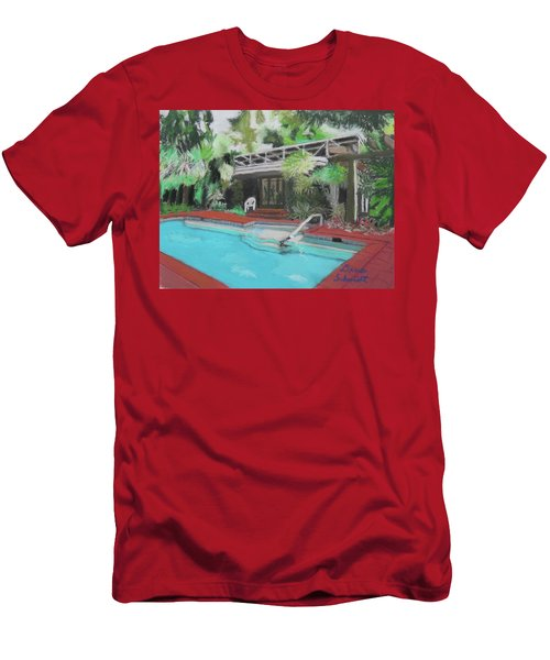 Our Back Yard In Orlando Men's T-Shirt (Athletic Fit)