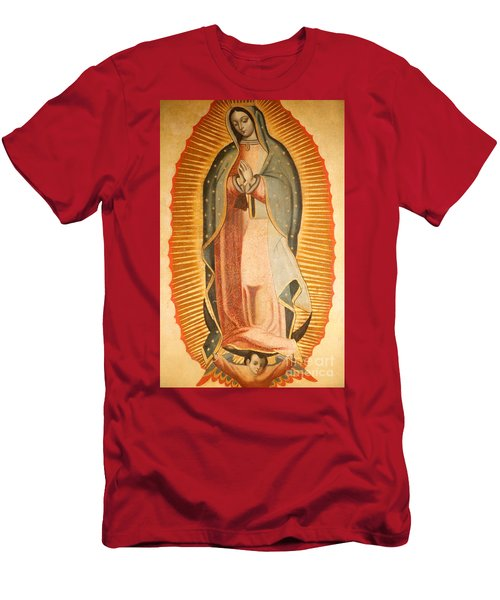 Our Lady Of Guadalupe Men's T-Shirt (Athletic Fit)