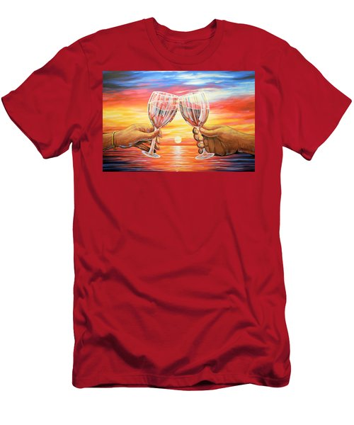 Our Sunset Men's T-Shirt (Athletic Fit)
