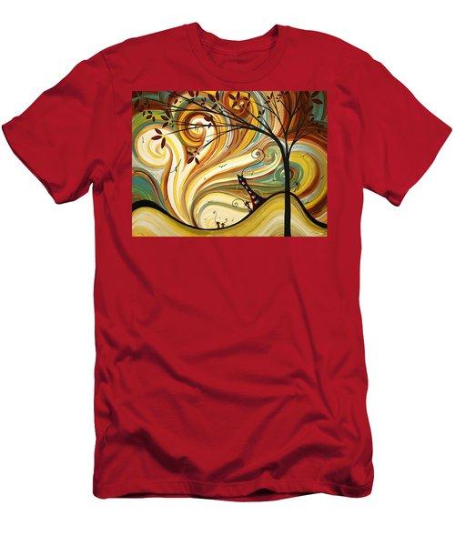 Out West Original Madart Painting Men's T-Shirt (Athletic Fit)