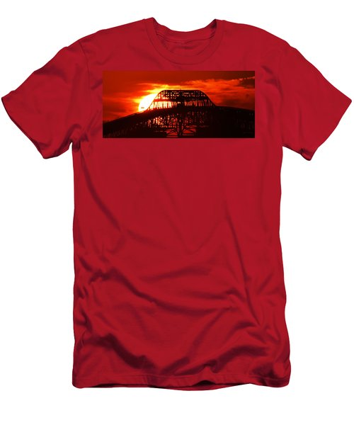 Over The Hump Men's T-Shirt (Slim Fit) by John Glass