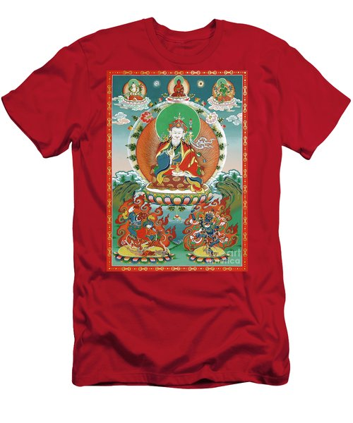 Padmasambhava Men's T-Shirt (Slim Fit) by Sergey Noskov