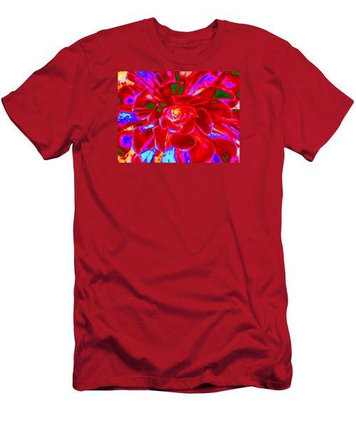 Carnival Colors Men's T-Shirt (Slim Fit) by Vivien Rhyan