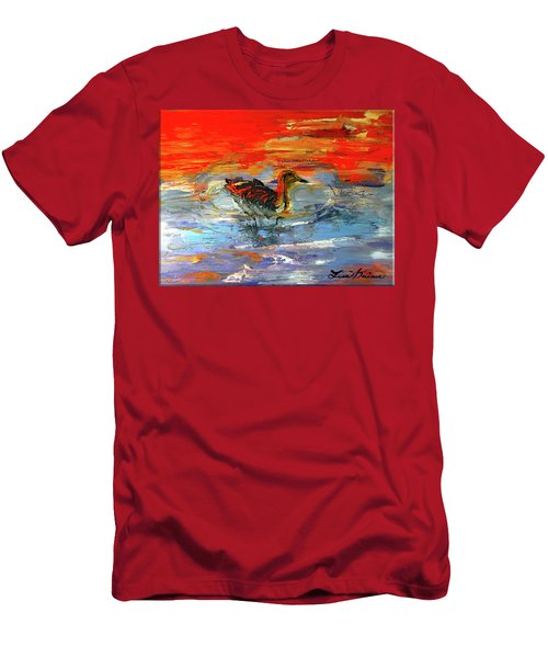 Painterly Escape II Men's T-Shirt (Athletic Fit)