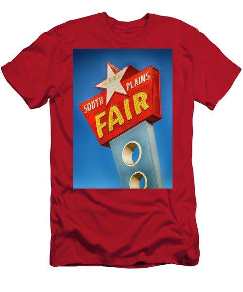 Panhandle South Plains Fair Sign Men's T-Shirt (Athletic Fit)