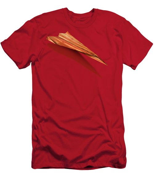 Paper Airplanes Of Wood 4 Men's T-Shirt (Slim Fit) by YoPedro