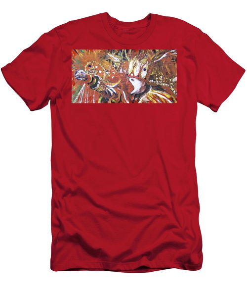Leader Of The Mardi-gras Men's T-Shirt (Slim Fit) by Gary Smith