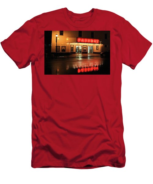 Parkway Night Men's T-Shirt (Slim Fit) by Dale R Carlson