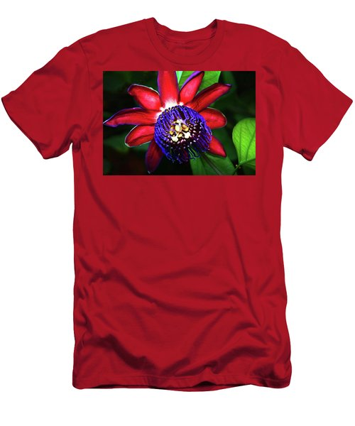 Men's T-Shirt (Slim Fit) featuring the photograph Passion Flower by Anthony Jones