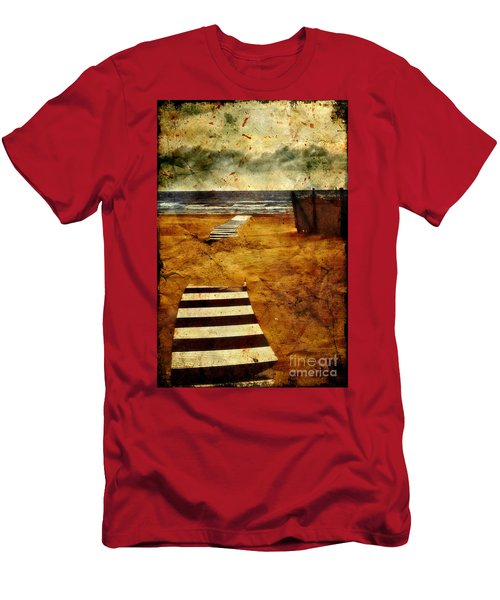 Pathway To The Sea II Men's T-Shirt (Athletic Fit)