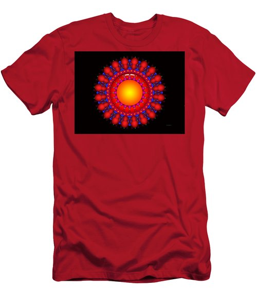 Men's T-Shirt (Slim Fit) featuring the digital art Peace by Robert Orinski
