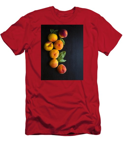 Peaches And  Basil Men's T-Shirt (Athletic Fit)