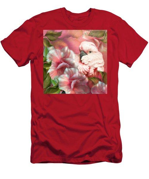 Peek A Boo Cockatoo Men's T-Shirt (Athletic Fit)