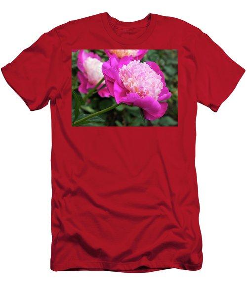 Peony Men's T-Shirt (Athletic Fit)