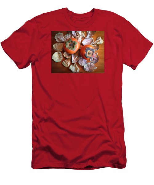 Persimmons 6 Men's T-Shirt (Slim Fit) by Ronda Broatch