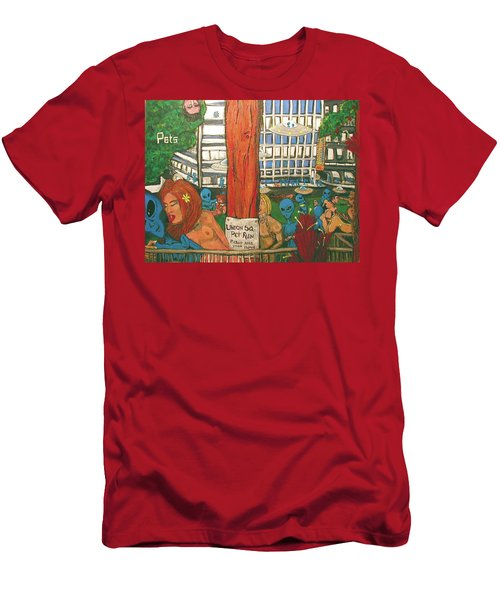 Pets Men's T-Shirt (Athletic Fit)