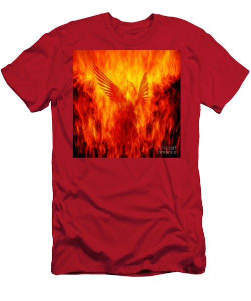 Phoenix Rising Men's T-Shirt (Athletic Fit)