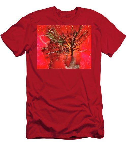 Men's T-Shirt (Slim Fit) featuring the photograph Photo Sin Thesis by Susan Capuano